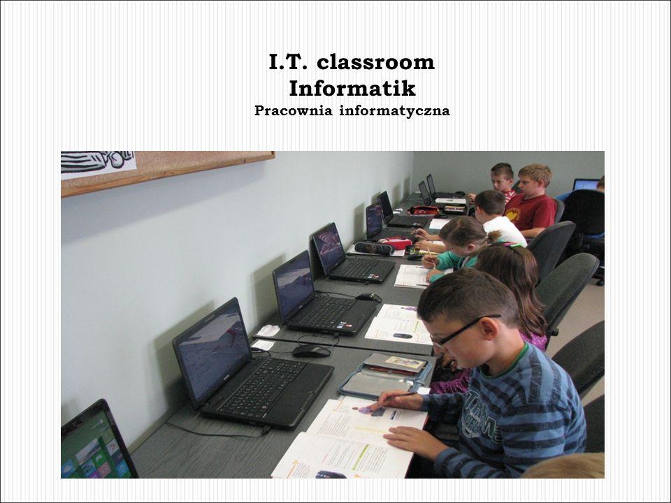 I.T. classroom Informatik Pracownia informatyczna