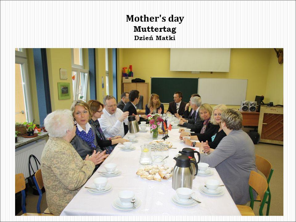 Mother s day Muttertag Dzień Matki