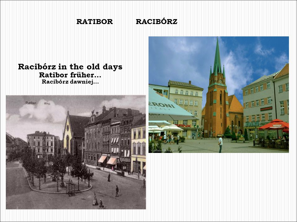 Racibórz in the old days