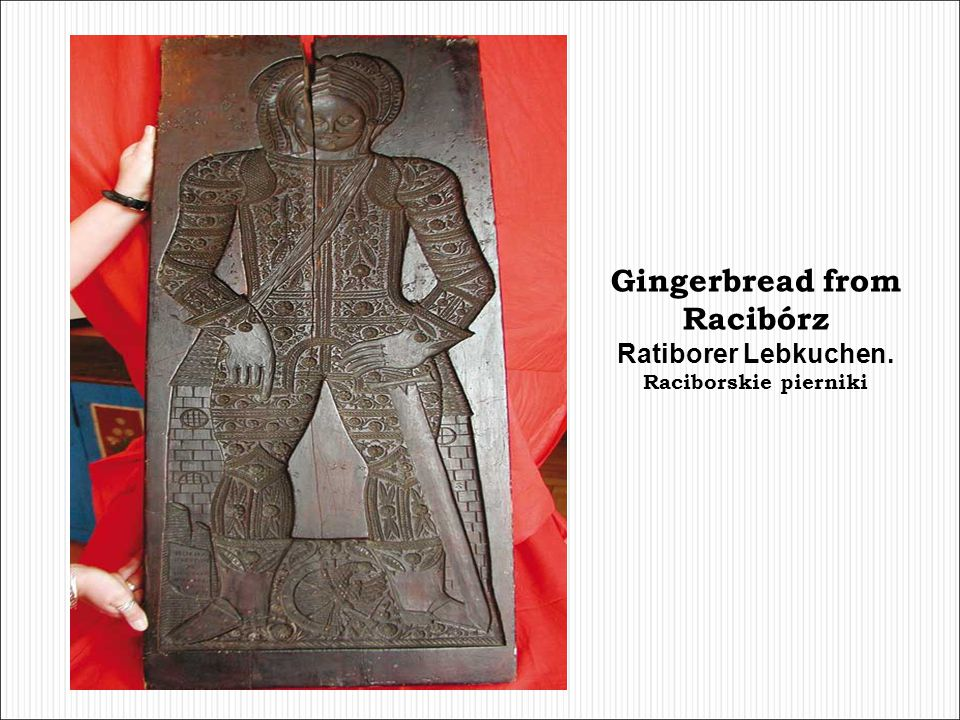 Gingerbread from Racibórz