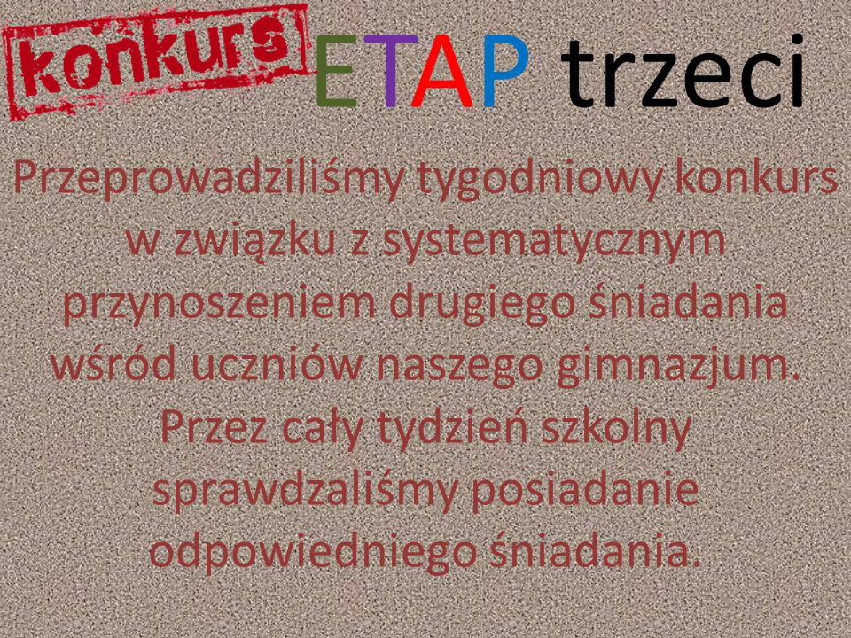 ETAP trzeci