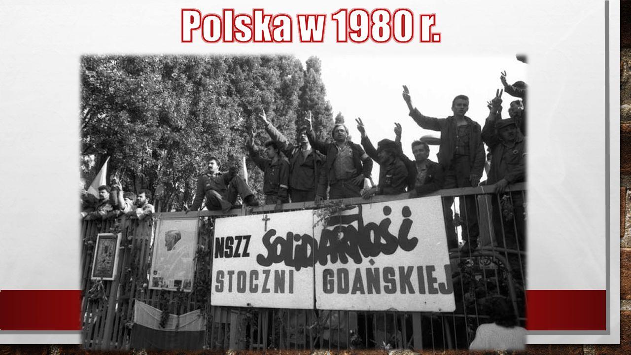 Polska w 1980 r.