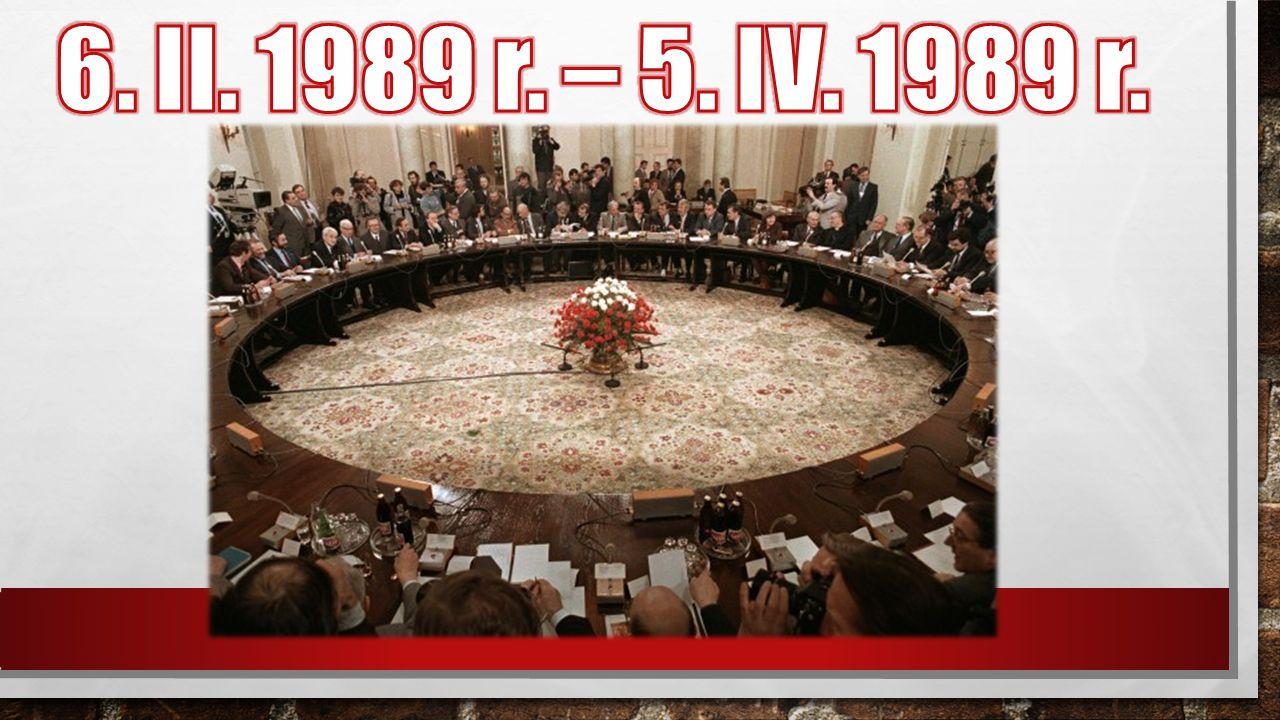 6. II. 1989 r. – 5. IV. 1989 r.
