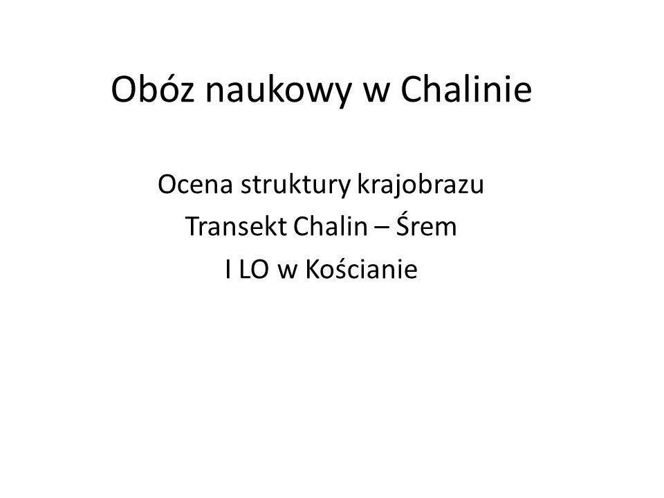 Obóz naukowy w Chalinie