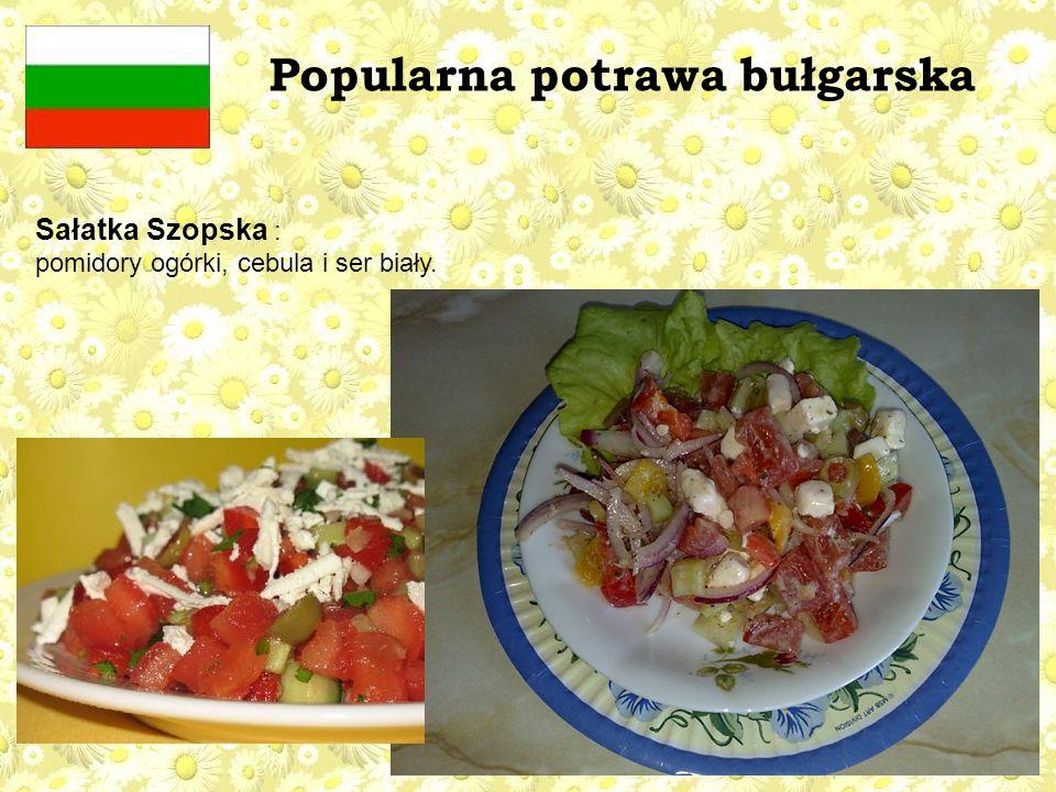Popularna potrawa bułgarska
