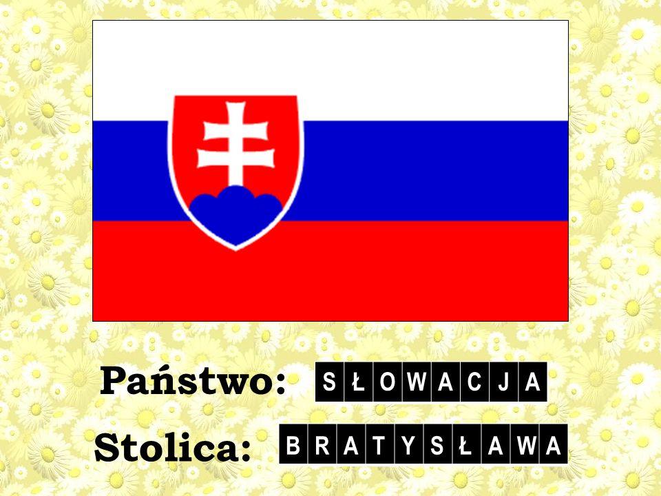 Państwo: S Ł O W A C J Stolica: B R A T Y S Ł W