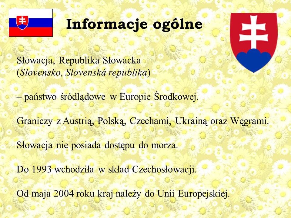 Informacje ogólne Słowacja, Republika Słowacka