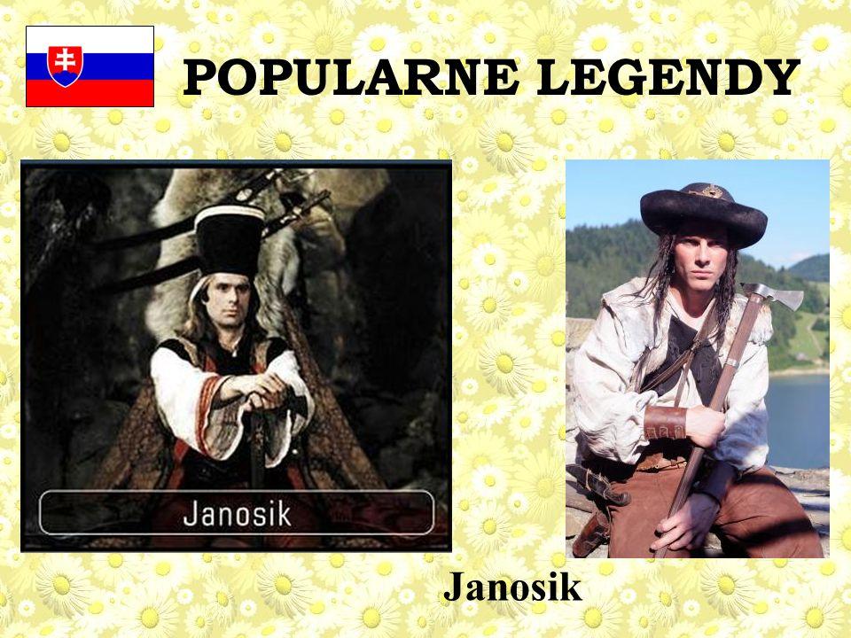 POPULARNE LEGENDY Janosik