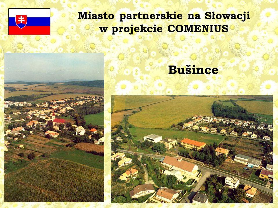 Miasto partnerskie na Słowacji w projekcie COMENIUS