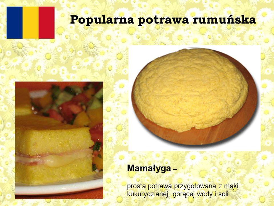Popularna potrawa rumuńska