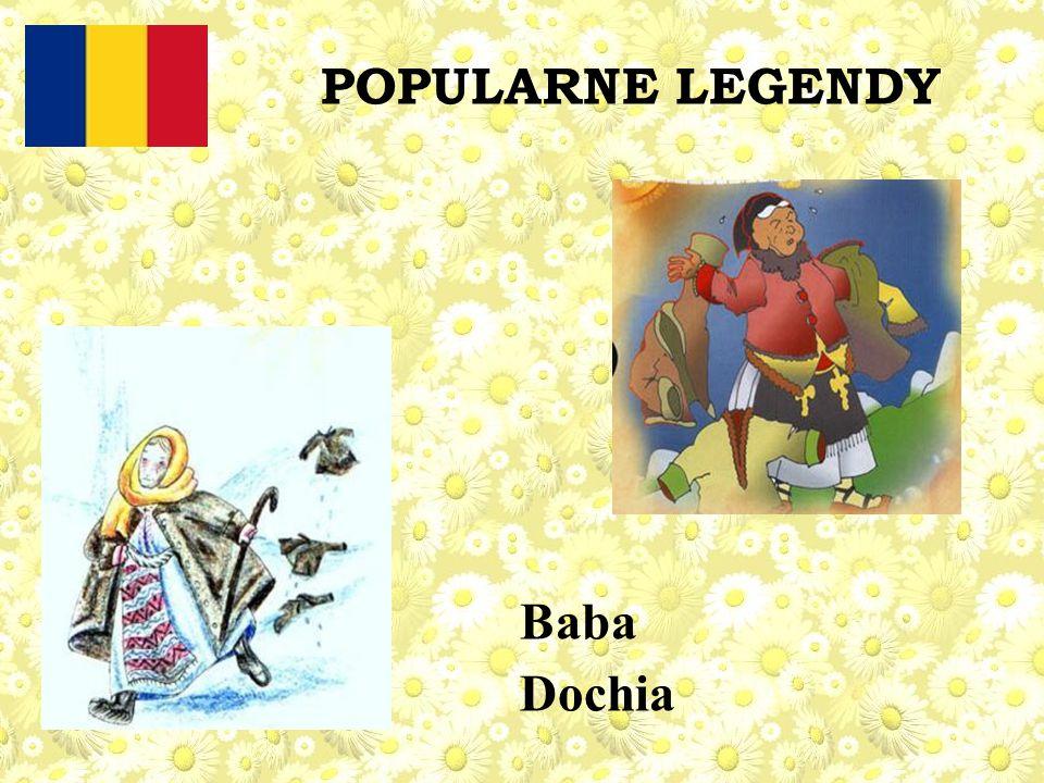 POPULARNE LEGENDY Baba Dochia