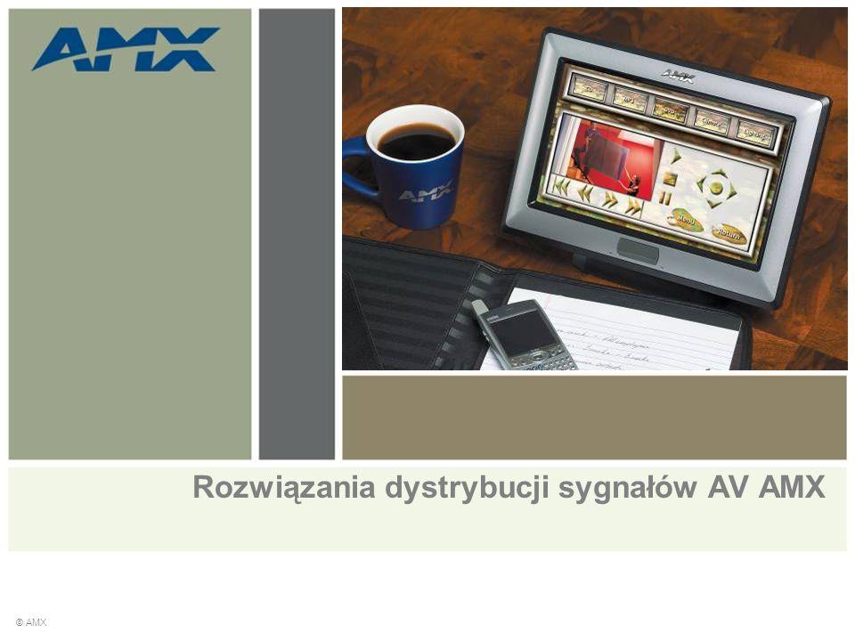 Rozwiązania dystrybucji sygnałów AV AMX