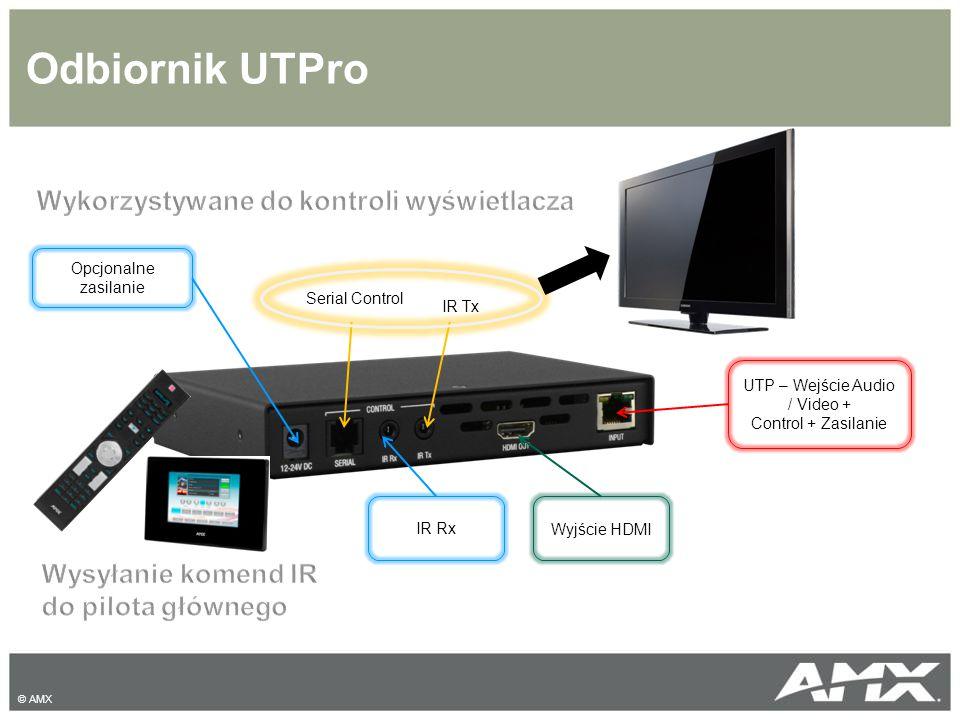 UTP – Wejście Audio / Video +
