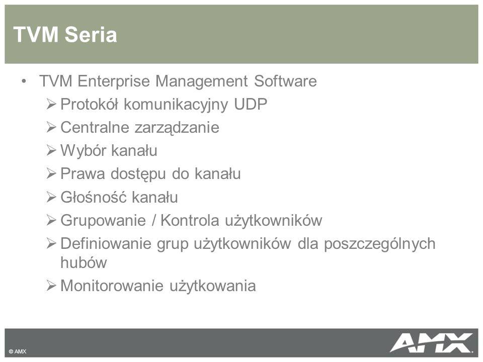 TVM Seria TVM Enterprise Management Software