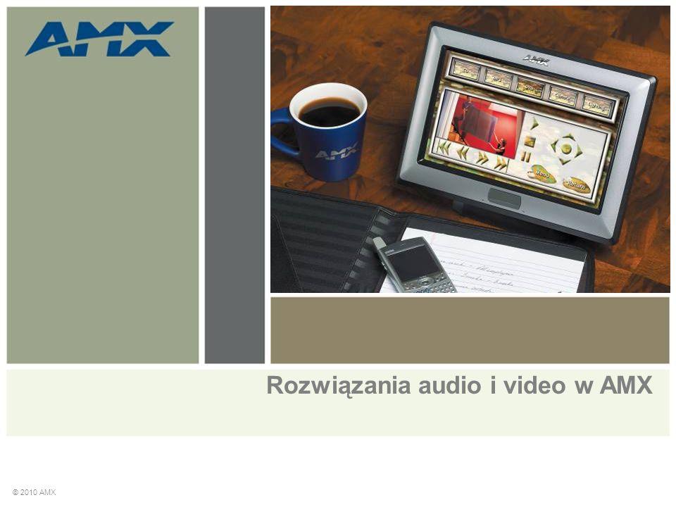Rozwiązania audio i video w AMX