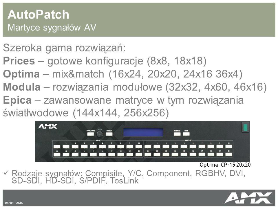 AutoPatch Martyce sygnałów AV