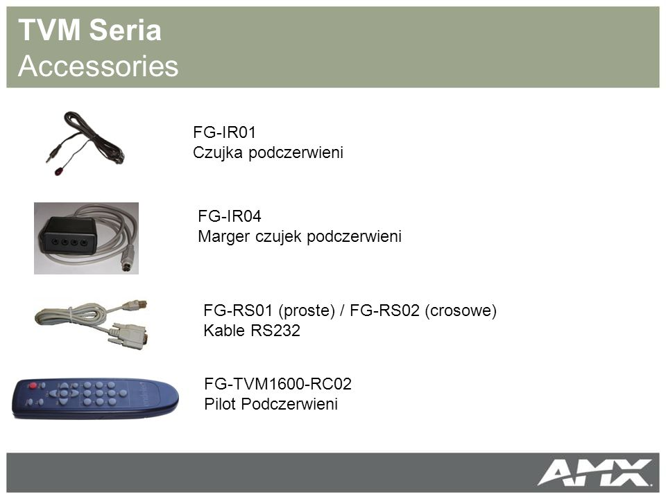 TVM Seria Accessories FG-IR01 Czujka podczerwieni FG-IR04