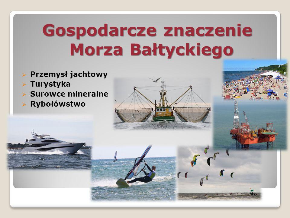 Gospodarcze znaczenie Morza Bałtyckiego