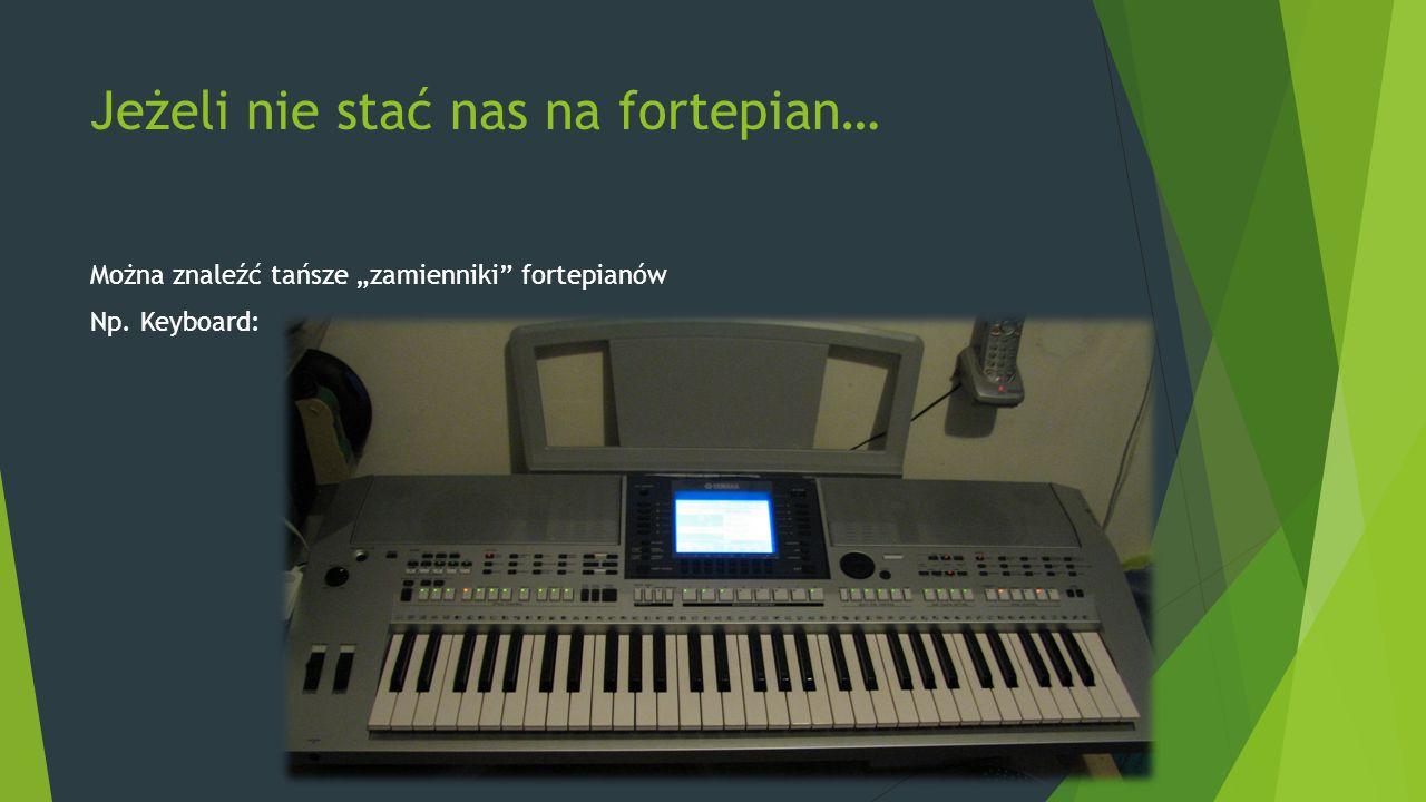 Jeżeli nie stać nas na fortepian…
