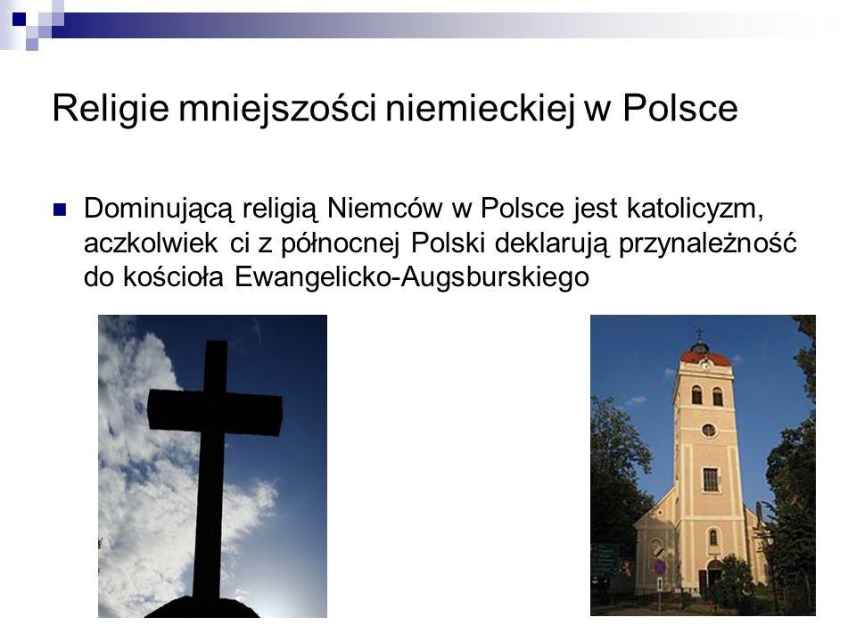 Religie mniejszości niemieckiej w Polsce