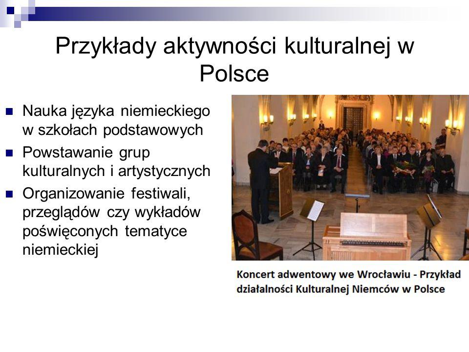 Przykłady aktywności kulturalnej w Polsce