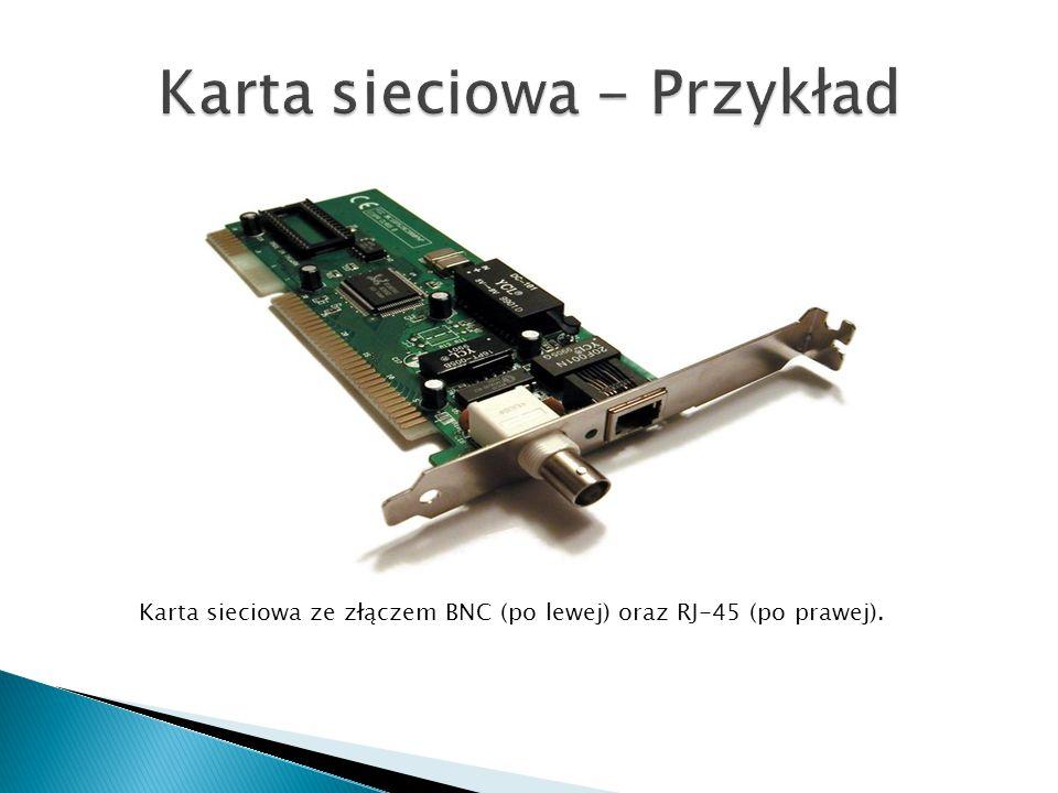Karta sieciowa - Przykład