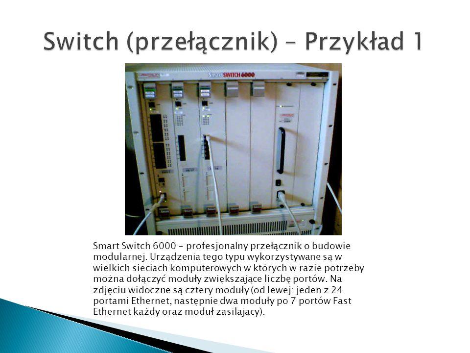 Switch (przełącznik) – Przykład 1