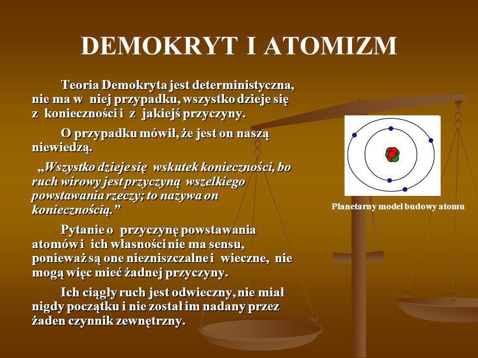 Planetarny model budowy atomu