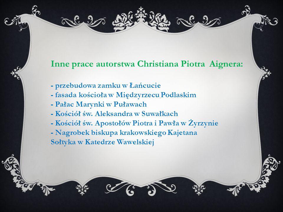 Inne prace autorstwa Christiana Piotra Aignera: