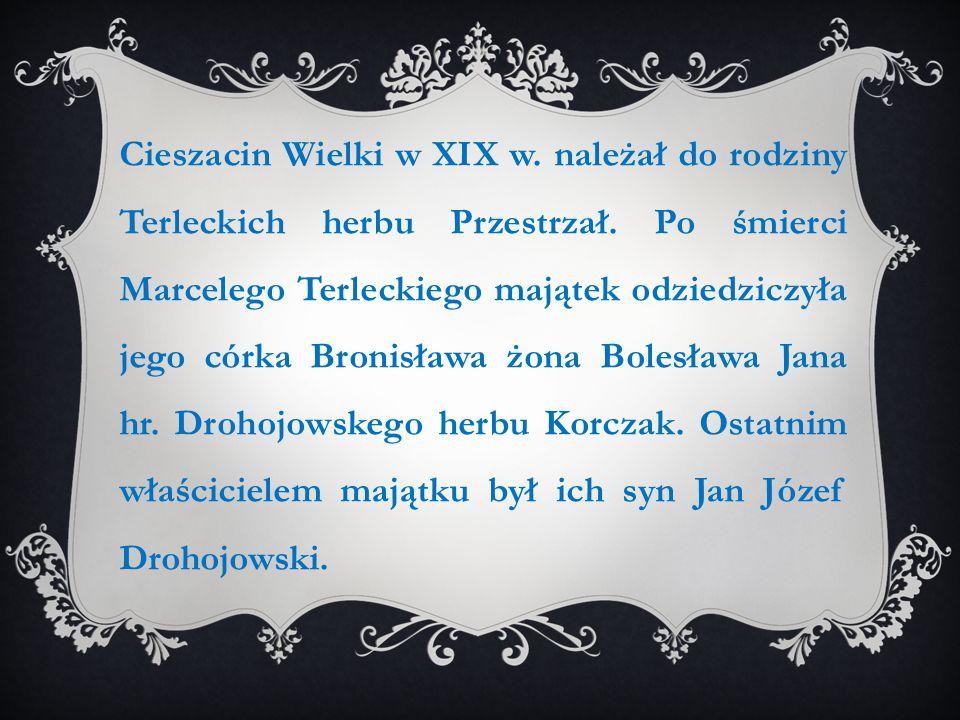 Cieszacin Wielki w XIX w