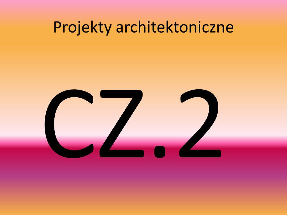 Projekty architektoniczne