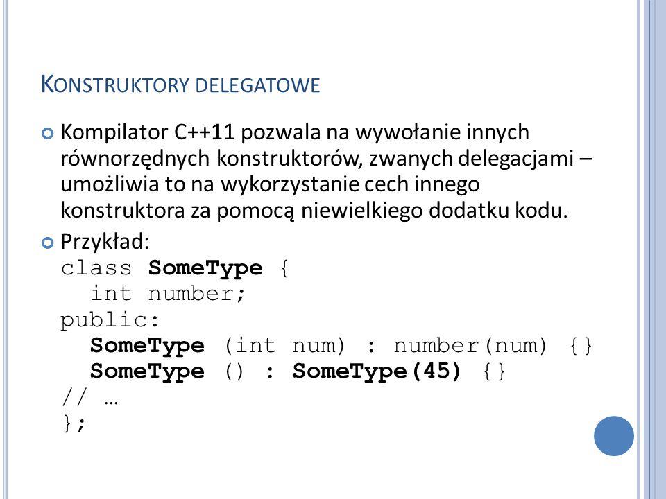 Konstruktory delegatowe