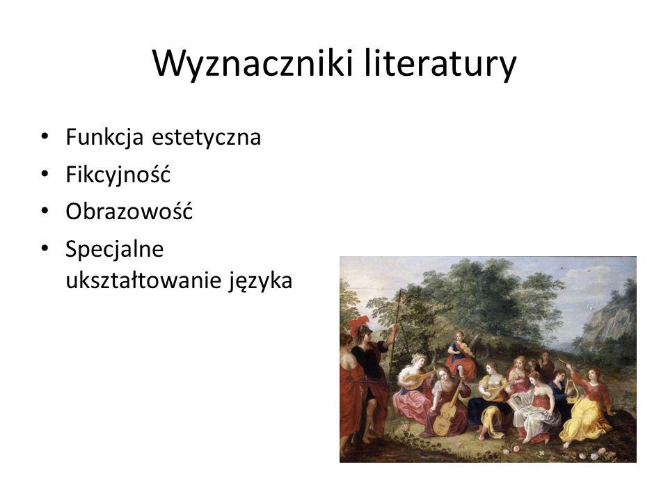 Wyznaczniki literatury