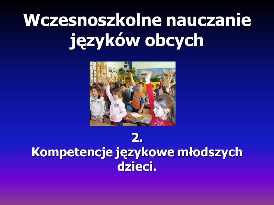 Wczesnoszkolne nauczanie języków obcych 2