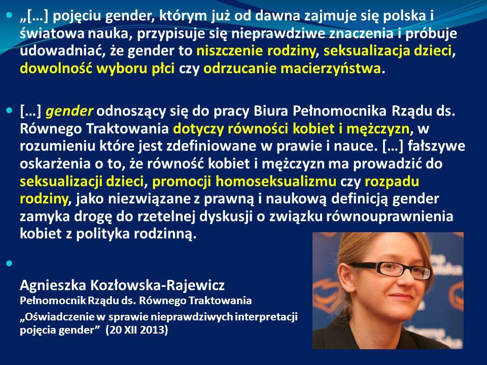 Agnieszka Kozłowska-Rajewicz Pełnomocnik Rządu ds. Równego Traktowania