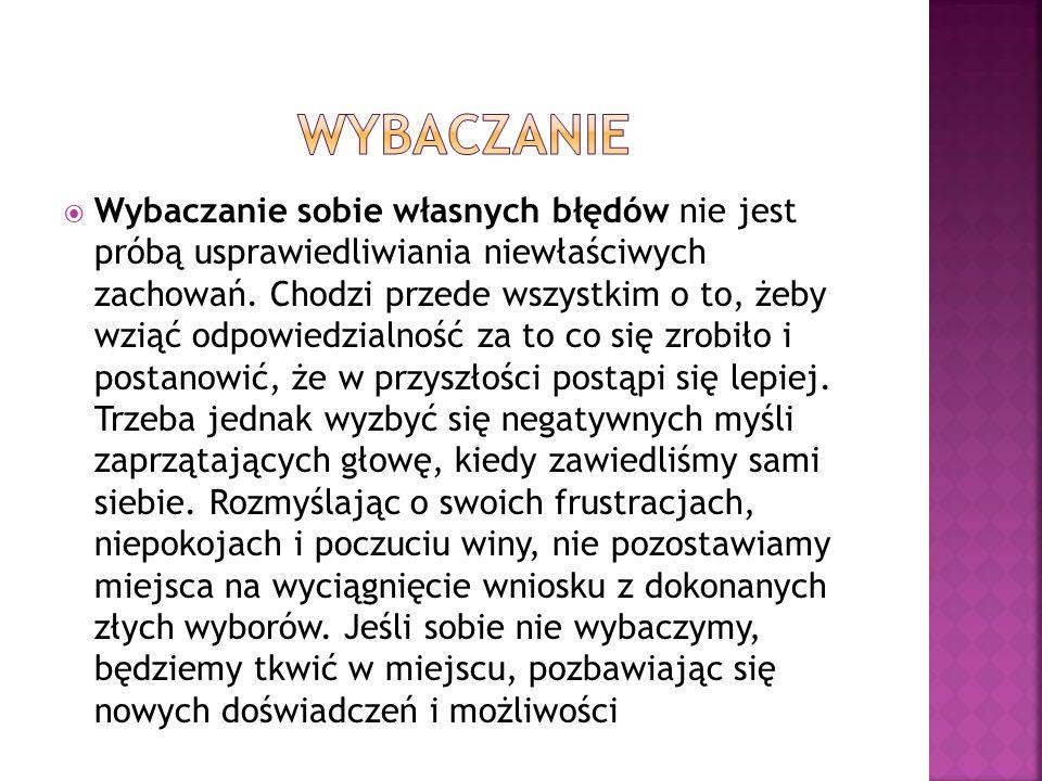 WYBACZANIE