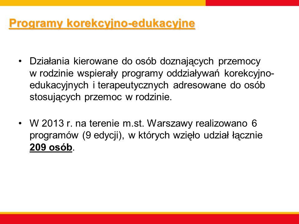 Programy korekcyjno-edukacyjne