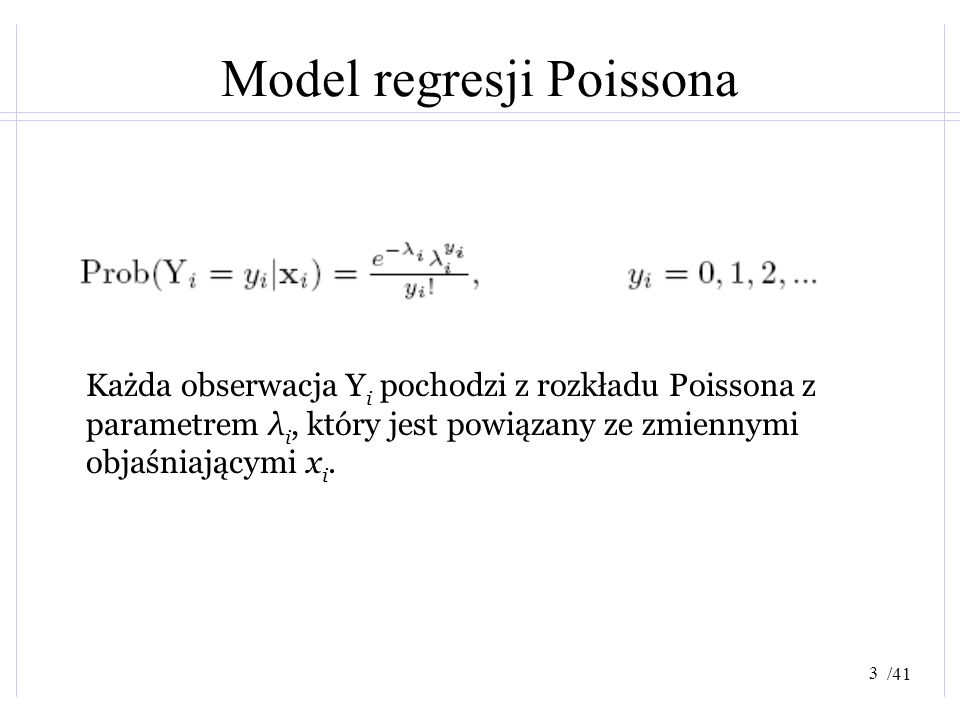 Model regresji Poissona