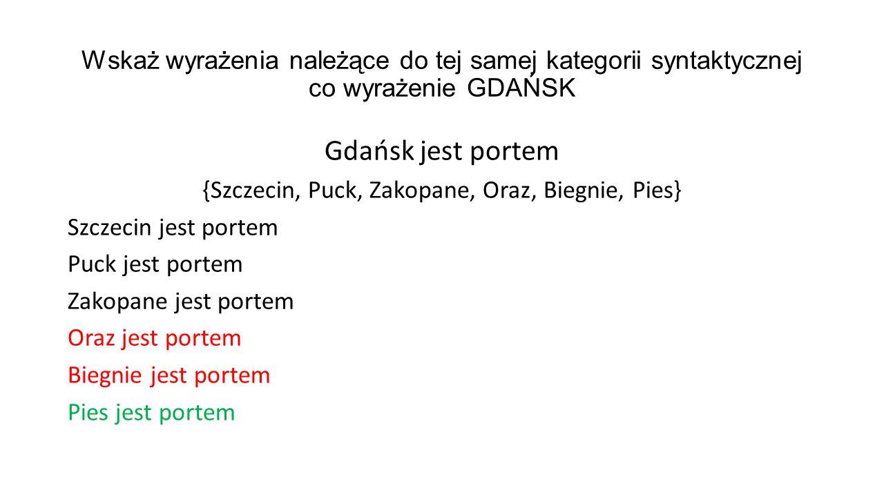 {Szczecin, Puck, Zakopane, Oraz, Biegnie, Pies}