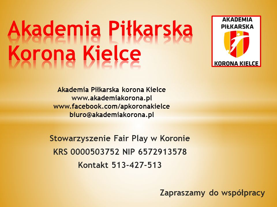 Akademia Piłkarska Korona Kielce