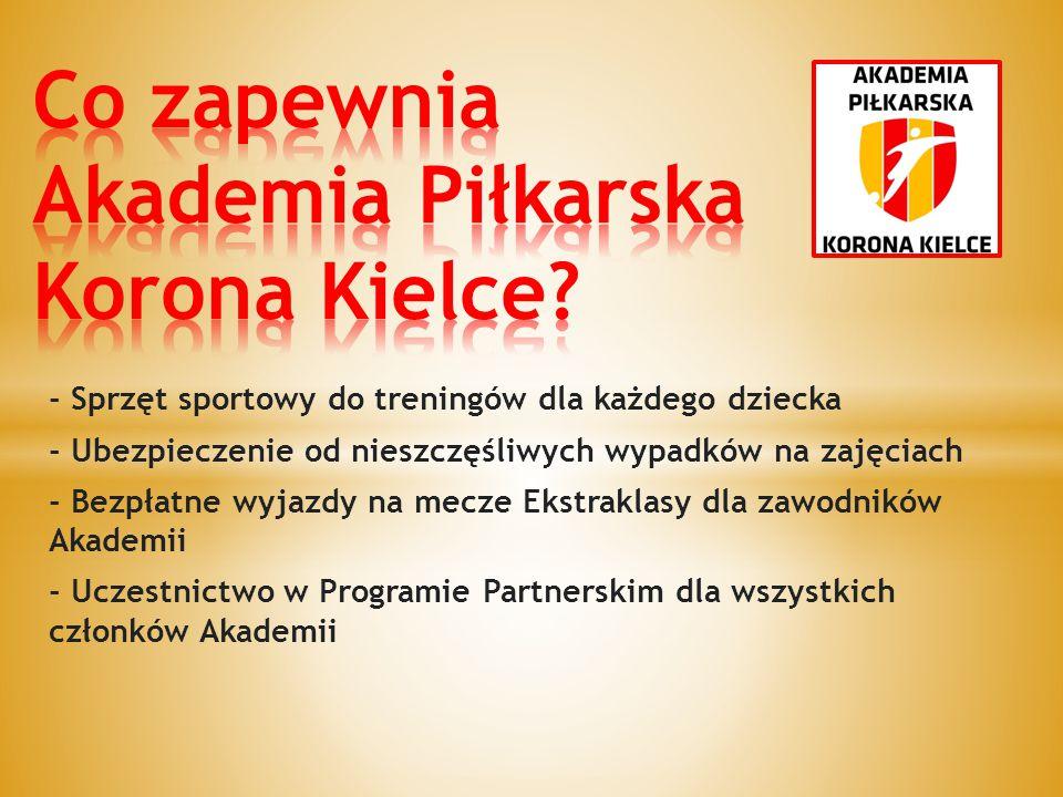 Co zapewnia Akademia Piłkarska Korona Kielce