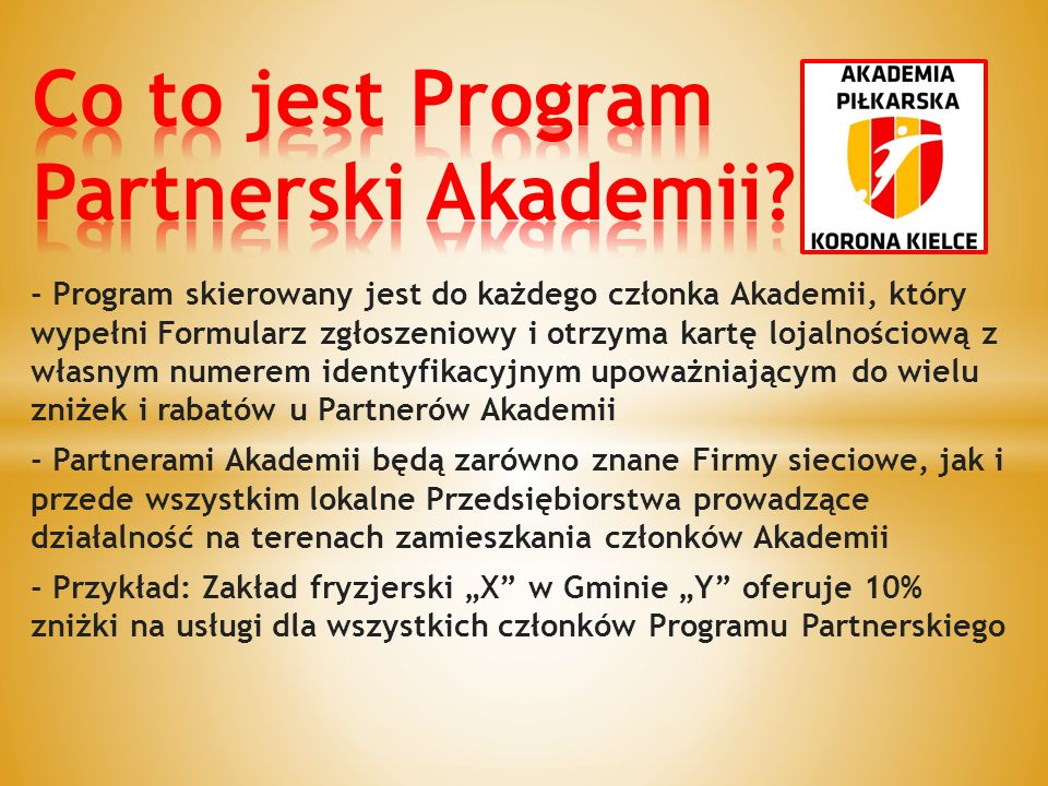 Co to jest Program Partnerski Akademii