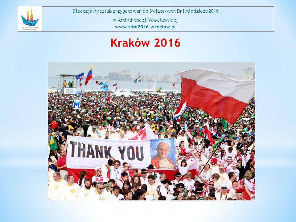 Diecezjalny sztab przygotowań do Światowych Dni Młodzieży 2016
