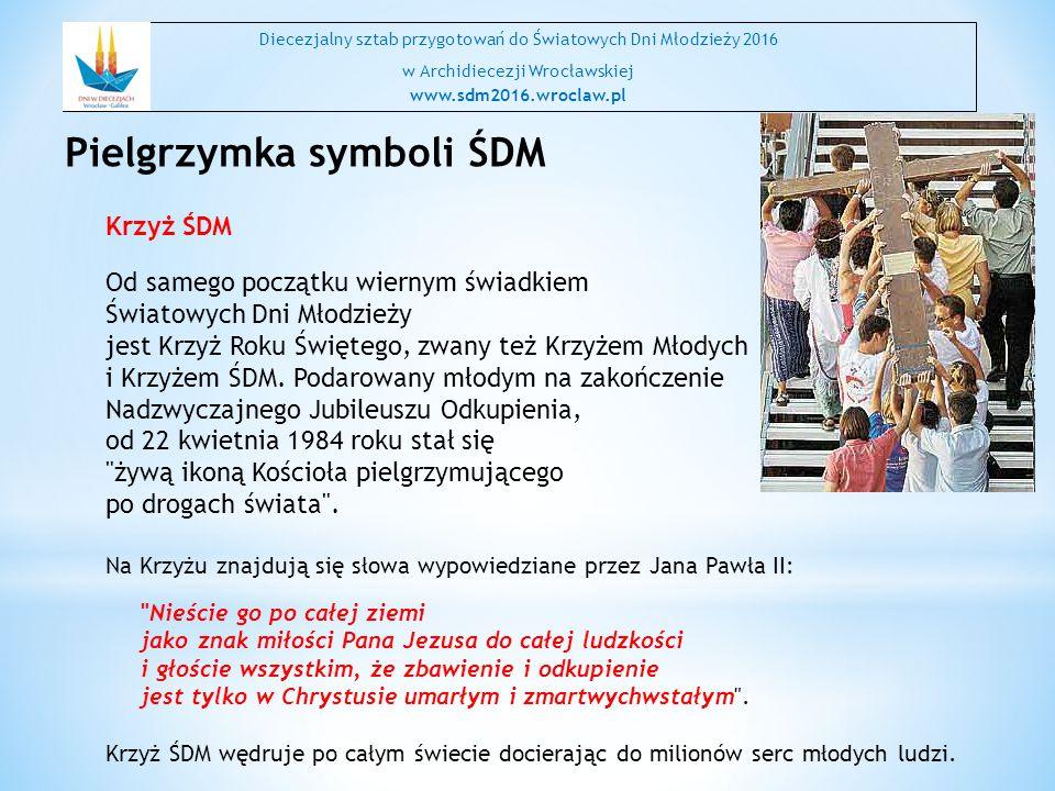 Pielgrzymka symboli ŚDM