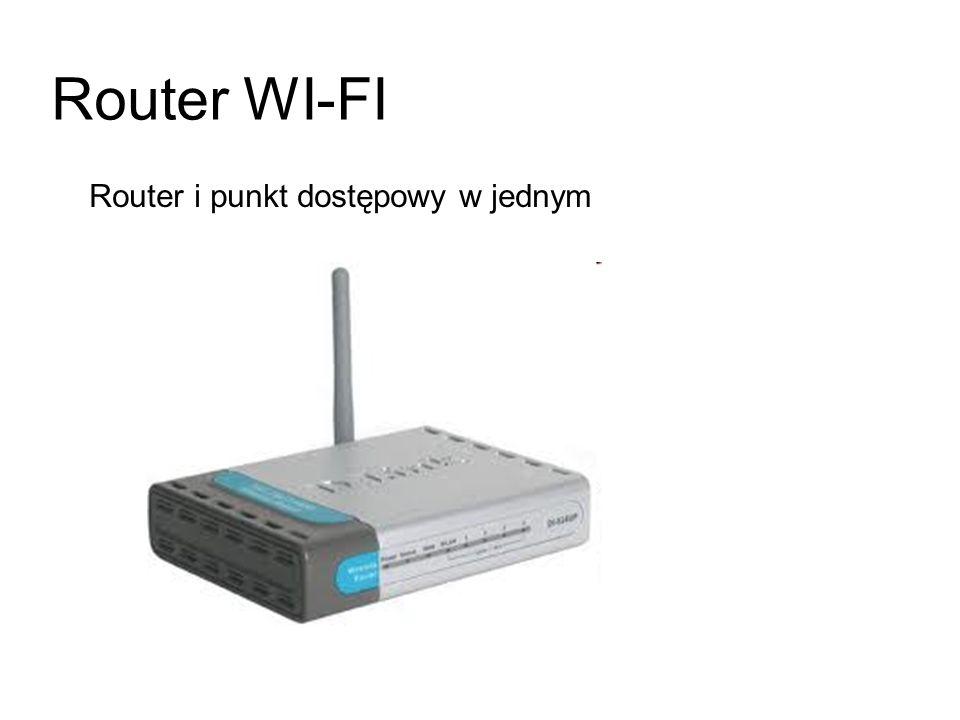 Router WI-FI Router i punkt dostępowy w jednym
