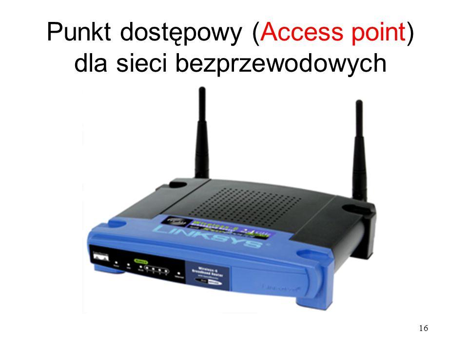 Punkt dostępowy (Access point) dla sieci bezprzewodowych