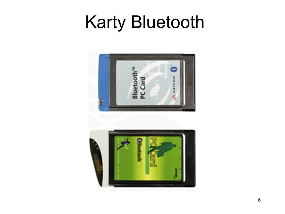 Karty Bluetooth 6