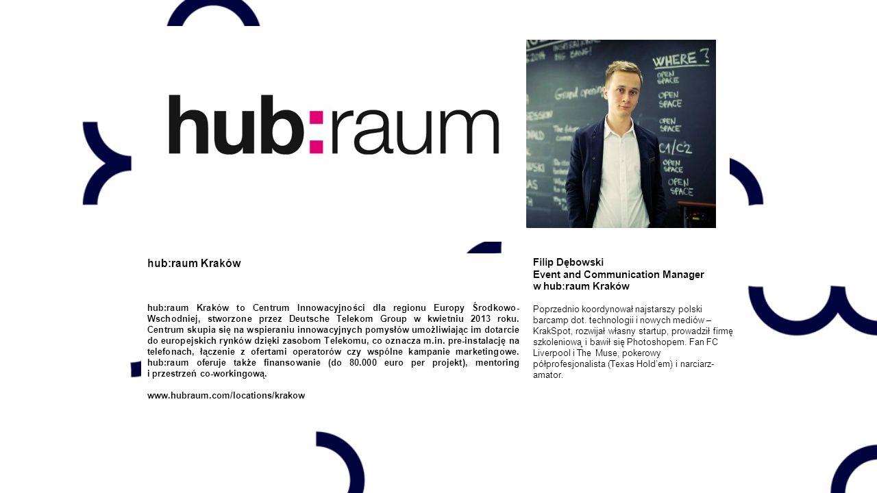 hub:raum Kraków Filip Dębowski