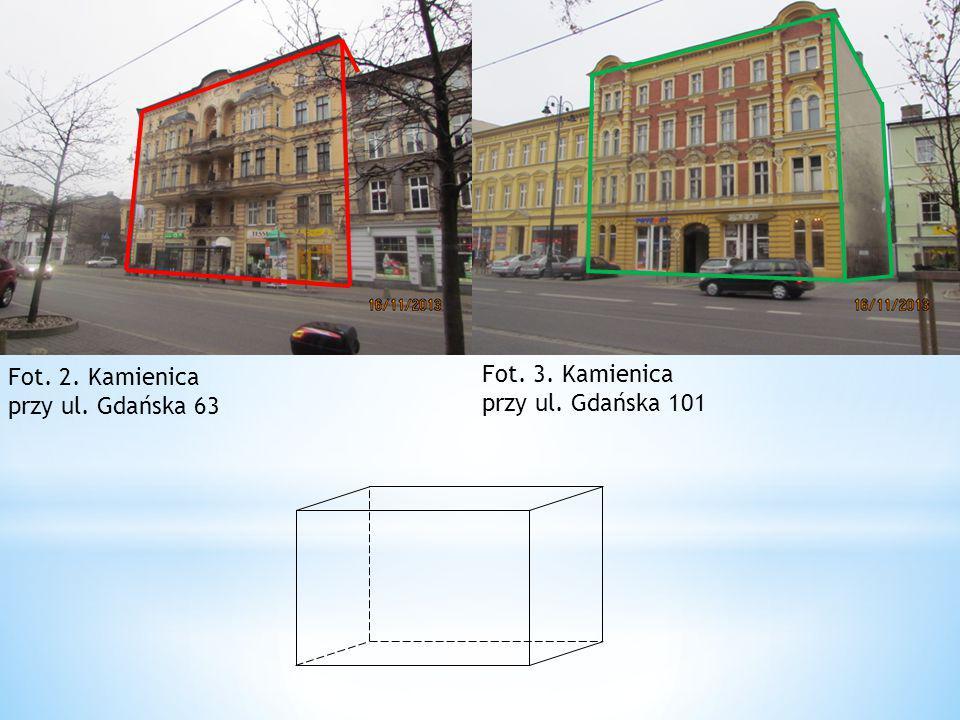 Fot. 2. Kamienica przy ul. Gdańska 63