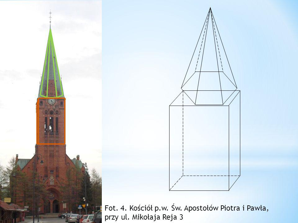 Kolumna kościoła p. w. Św. Apostołów Piotra i Pawła, przy ul